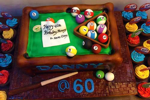 Billiard Pool Cake