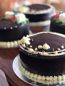 Choco Bursts Cakes by Maia's Cakes